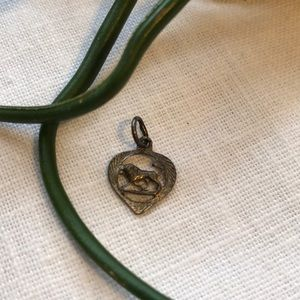 Jewelry - Small Leo Zodiac Silver Pendant